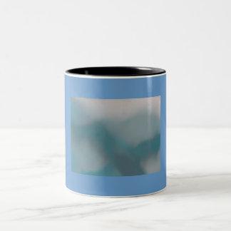 summer skies Two-Tone coffee mug