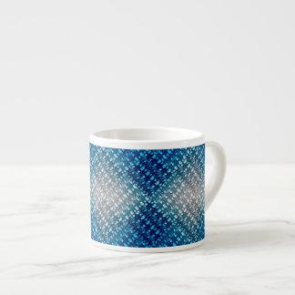 Summer Skies Weave 6 Oz Ceramic Espresso Cup