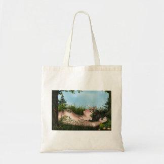 Summer skys canvas bags