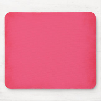 SUMMER SLURPIE STRAWBERRY HOT PINK BACKGROUND WALL MOUSE PAD