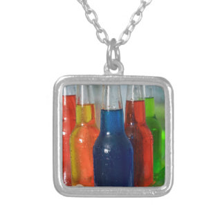 Summer Soda Pop Silver Plated Necklace