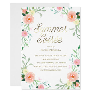 Summer Soirée | Summer Party Invitation