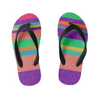 Summer Sole Food Twinkle Toes Flip Flops