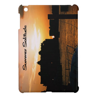 Summer Solitude iPad Mini Cover