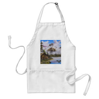 Summer Solitude Oil painting by David Paul Adult Apron