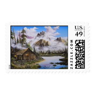 Summer Solitude US Stamp by David Paul