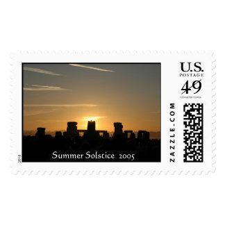 Summer Solstice  2005, Stonehenge  Postage