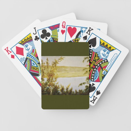 Summer Solstice Bicycle Playing Cards