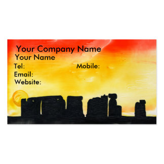 Summer Solstice Business Card Templates