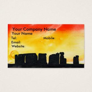 Summer Solstice Business Card