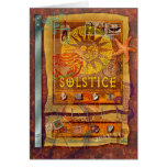 Summer Solstice Greeting Card