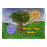 Summer Solstice Greetings Cards