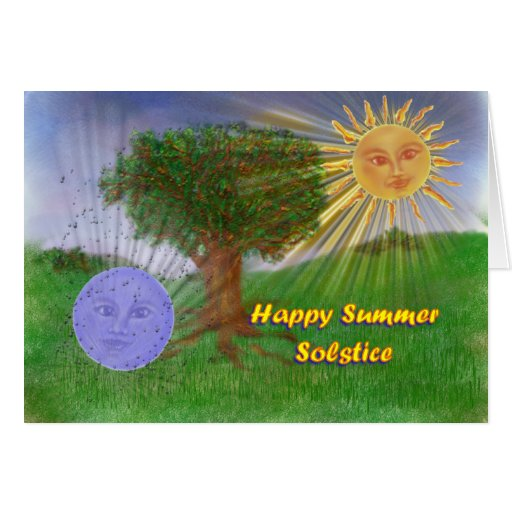 Summer Solstice Greetings Cards | Zazzle