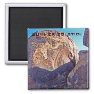 Summer Solstice in USA Magnet