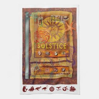 Summer Solstice Kitchen Towel