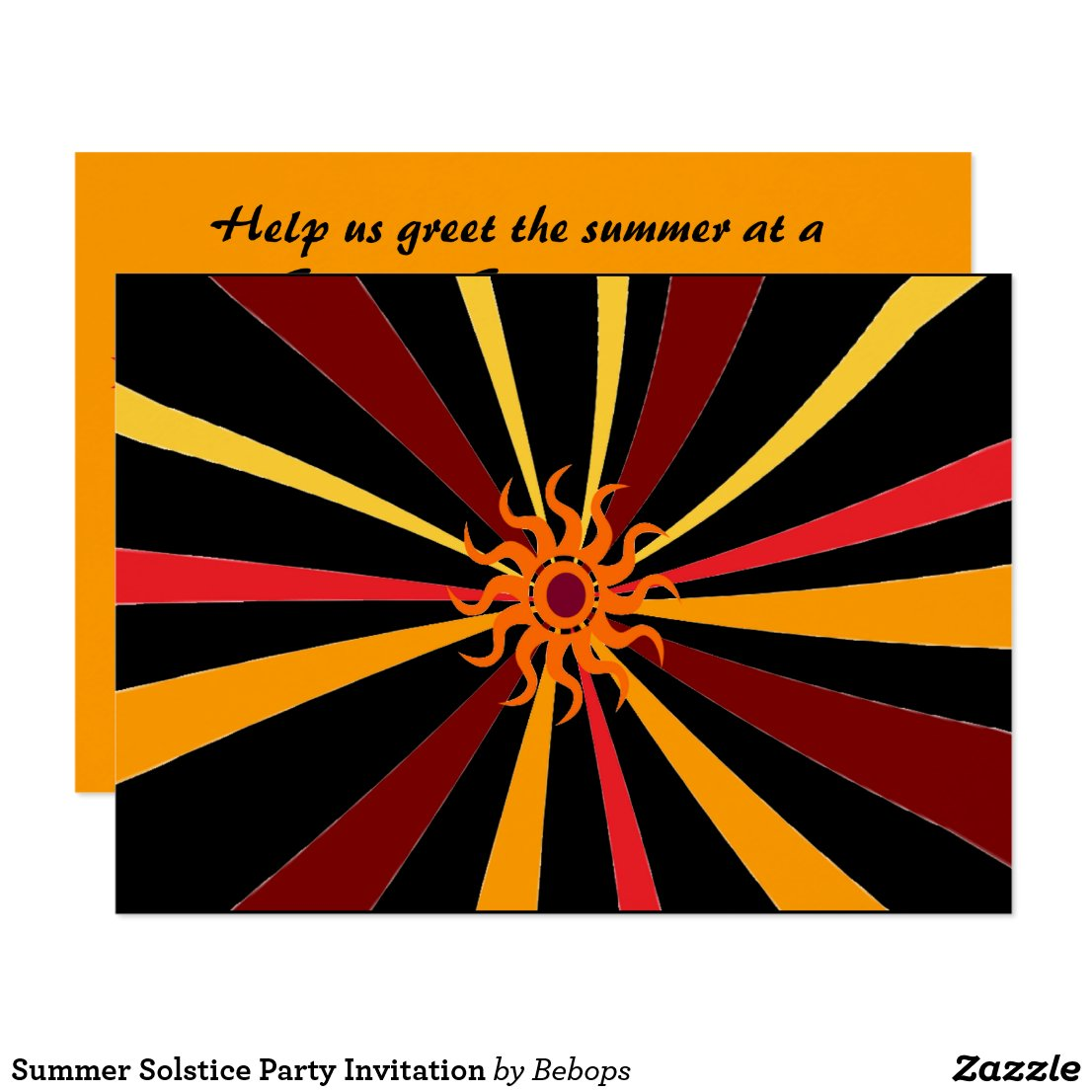 Summer Solstice Party Invitation