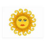 summer solstice postcard