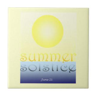 summer solstice tile