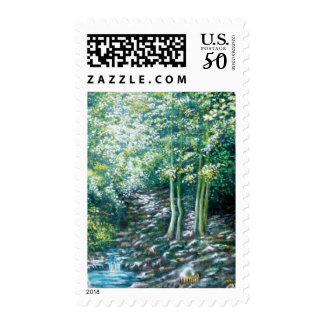 SUMMER SONGS IN THE FOREST OF VALLOMBROSA -detail Postage