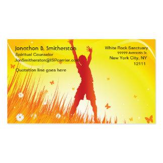 Summer Spirit Business Card Template