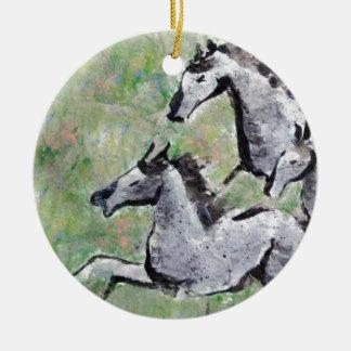 Summer Spirits - mixed media Christmas Ornaments