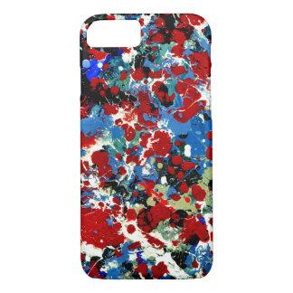 SUMMER SPLASH TILE (an abstract art design) ~ iPhone 8/7 Case