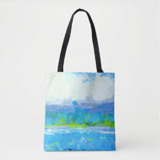 Summer Squall All Over Print Tote Bag