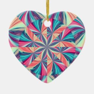"""""""Summer Star"""" Ceramic Ornament"""