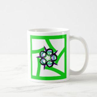 Summer Star - Green Coffee Mug