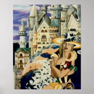 Summer Star Princess Castle Earth Fantasy Poster