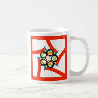 Summer Star - Red Coffee Mug