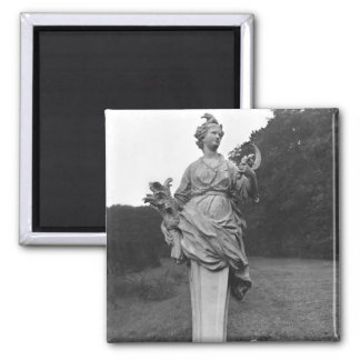 Summer, statue in the gardens magnet