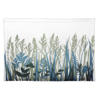 Summer Stems placemat Cloth Placemat