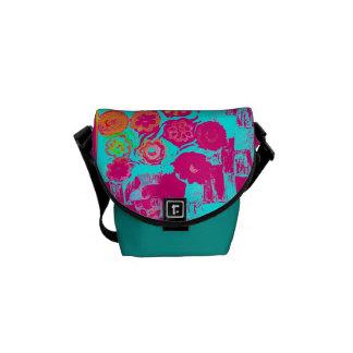Summer Still Life Messenger Bag