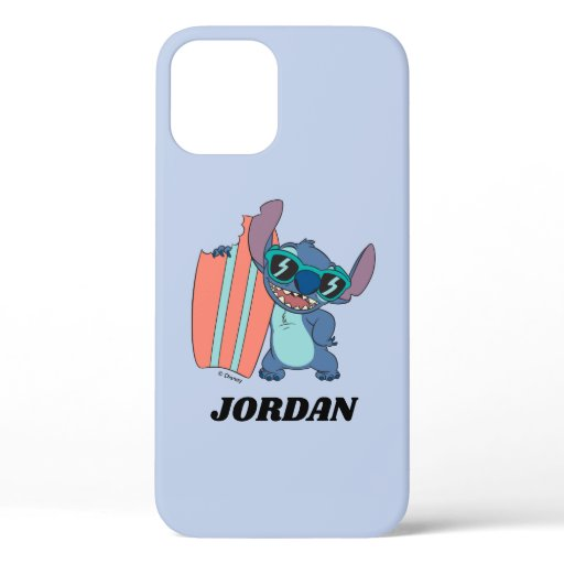 Summer Stitch with Surfboard iPhone 12 Case