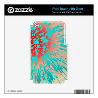 Summer Storm Decals For iPod Touch 4G