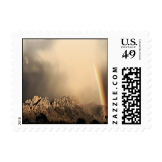 Summer Storm/Organ Mountains Postage Stamp