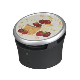 Summer Strawberries And Cupcakes Art Speaker