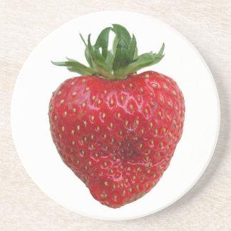 Summer Strawberry Drink Coaster