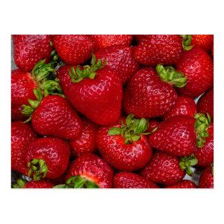 Summer Strawberry Postcard