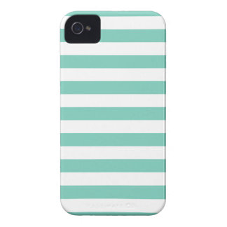 Summer Stripes Cockatoo Turquoise Iphone 4/4S Case iPhone 4 Case