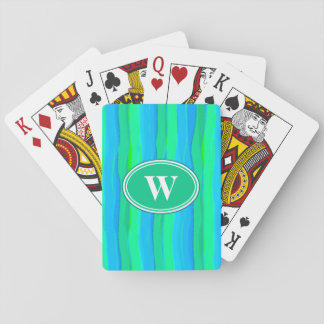 Summer Stripes Playing Cards