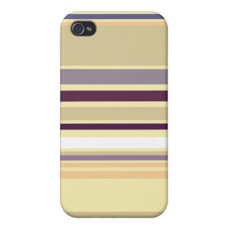 Summer Stripes - Striped iPhone 4G Case Covers For iPhone 4