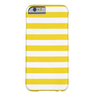 Summer Stripes Super Lemon Yellow iPhone 6 case