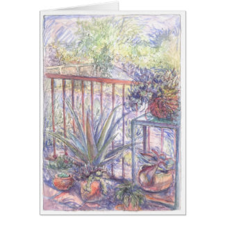 Summer Succulents  Tucson, Arizona Cards