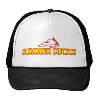 Summer Sucks Mesh Hats