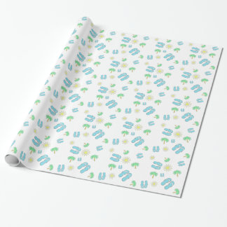Summer Sun and Sandals Gift Wrap
