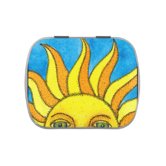Summer Sun Candy Tin