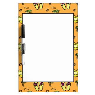 Summer Sun Dry Erase Board