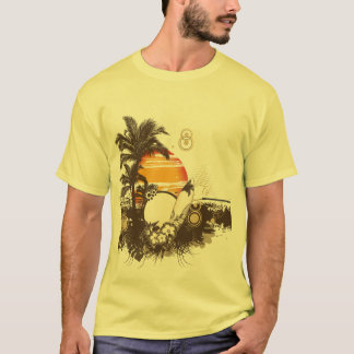 Summer Sun Holidays Sea Surf and Sand T-Shirt